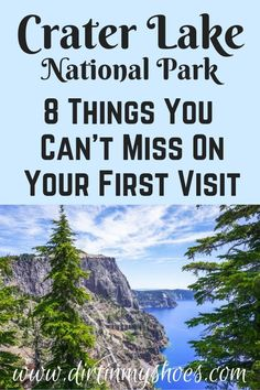8 Things You Can't Miss On Your First Visit to Crater Lake - - Experience the best hikes and viewpoints at Crater Lake National Park with this list of things you can't miss -- written by a former park ranger! Arcadia National Park, Tayrona National Park, Snowdonia National Park, Crater Lake National Park, Badlands National Park, Mount Rainier National Park, National Parks Usa, Smoky Mountain National Park, Parc National