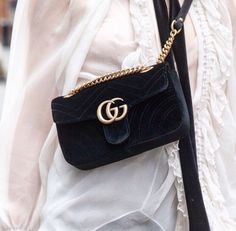 a2dddec2bec Gucci Must have velvet texture bag - TheyAllHateUs