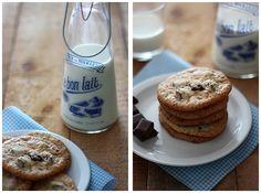 Chewy cookies aux pépites de chocolat FROM Gourmandiseries