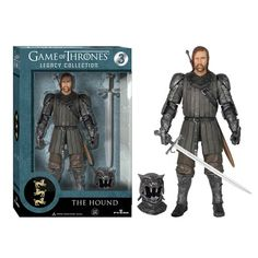Game of Thrones The Hound Legacy Collection Action Figure - Funko - Game of Thrones - Action Figures at Entertainment Earth http://www.entertainmentearth.com/prodinfo.asp?number=FU3912&id=TO-603025911