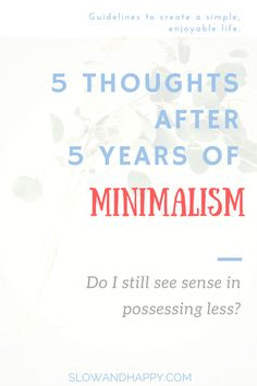 Know drawbacks and dangers of minimalism from a woman who is on the path of simple living for more than 5 years! Click to read :)