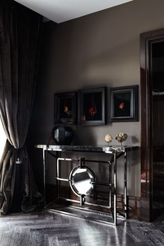 Knightsbridge Residence in London 13 Luxury Penthouse Design in London Infused with Impressive Dark Hues