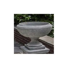 Campania International, Inc Novelty PedestalPlanter Finish: English Moss