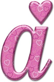Oh my Alfabetos!: Alfabeto con osito de trapo con corazón.