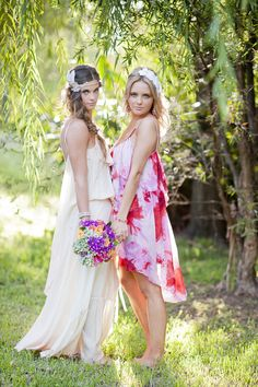 Theres really nothing more romantic and beautiful than a bohemian bride so when we saw this photo shoot captured by Photography by Nadean we did our little happy dance! Styled to perfection by the fabulous people at Teeki, these looks are guaranteed to inspire all you inner boho brides. Chanele Rose Flowers whipped up all…
