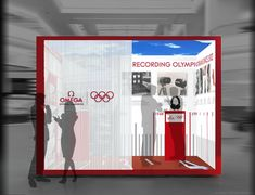 Omega stand Olympic games