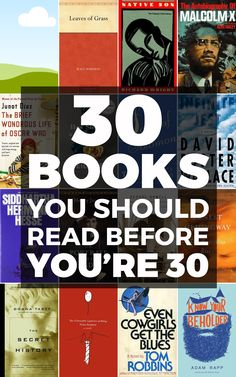 These 30 books are must-reads!