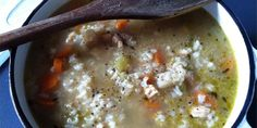 Culinary Chemistry: Grown-up Chicken Soup with Rice made with Red Chair NWPA   Sip Northwest Magazine