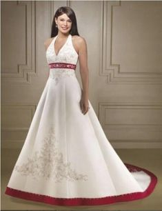 Best 30 Plus Size Red And White Wedding Dresses