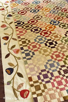 A glimpse inside the life of a designer of patchwork and quilting fabrics & patterns. Quilting Projects, Quilting Designs, Nine Patch Quilt, Civil War Quilts, Country Quilts, Quilt Border, Traditional Quilts, Antique Quilts, Scrappy Quilts
