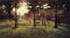 Summer Days at Vernon - Theodore Clement Steele - The Athenaeum