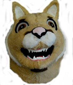 Mascots USA by CJs Huggables Custom Pro Low Cost Fierce Cougar Mascot Costume http://www.easterdepot.com/mascots-usa-by-cjs-huggables-custom-pro-low-cost-fierce-cougar-mascot-costume/ #easter  Animal Mascot complete with Head, Body and Tail, Hands and Foot-covers. Adult Standard Large (the most versatile size) is included and is best One-Size-Fits-All. Factory Direct Animal Mascot Durable for School and College Teams Factory Direct Animal Mascot Durable for School and College Teams P..