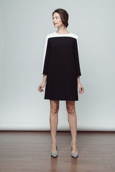Wear to Work got chic - the Stanton Dress in colorblock.