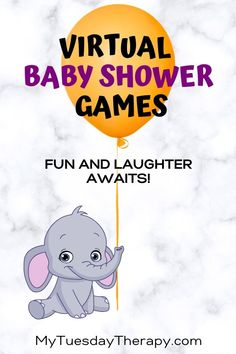 Fun ideas for a long distance baby shower online. Baby shower on a budget. Source by mytuestherapy Baby Shower Game Gifts, Baby Shower Games Unique, Simple Baby Shower, Baby Shower Fun, Shower Gifts, Kids Baby Shower Games, Baby Shower Virtual, Babyshower, Juegos Baby