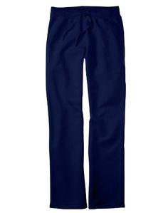 cool Hanes Ladies' 8 oz.; 80/20 ComfortBlend� EcoSmart� Open-Bottom Fleece Pant - DEEP NAVY - S