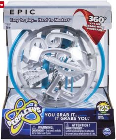 Spin Master Games Perplexus EPIC 3D Labyrinth Sphere Puzzle Ball Brain Game #SpinMasterGames