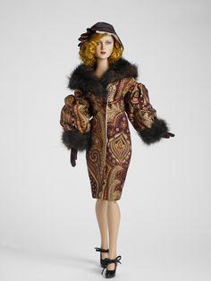 Wrapped in Luxury #TonnerDolls #FashionDolls