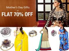 #Mother is the best gift of god and if it is the day dedicated to #Mom we must gift her the best thing that she can use. Have a look at some items which you can gift to your mom on #MothersDay and get 70% off too.
