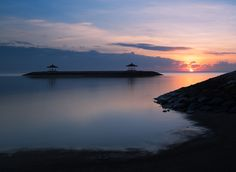 Soulful Morning - Sunrise at Sanur beach. Used 10 Stop NiSi ND filter for this.