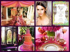 Moroccan themed wedding