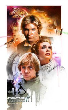 My Star Wars Celebration VI Poster Artwork