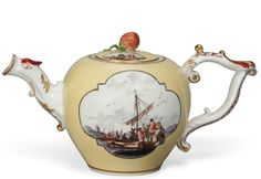 A Meissen Yellow-Ground Teapot and a Cover,  http://www.christies.com/lotfinder/lot/a-meissen-yellow-ground-teapot-and-a-the-5588235-details.aspx?from=salesummary=9=5588235=e4d36863-1d8e-4b4f-849d-c21aee8ad56d=10