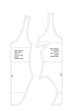 The Basic Tanksuit « Pattern School