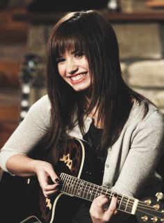 Demi Lovato from Camp Rock is relatable because she learns to come out of her shell and people learn to accept the way she is.