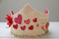 Make a birthday crown or for Valentines Day or other holiday