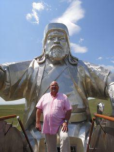 Michel SALAUN en voyage en Mongolie