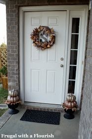Frugal with a Flourish: More Shimmer at the Front Door ...