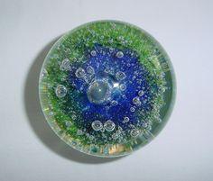 SALE Breathtaking KOSTA WARFF Glass Paperweight SIGNED and ORIGINAL LABEL Sweden
