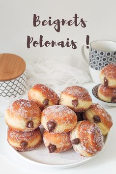Beignets, Donut Recipes, Pastry Recipes, Delicious Donuts, Yummy Food, Biscuit Cake, Ramadan Recipes, I Love Food, Food Photo