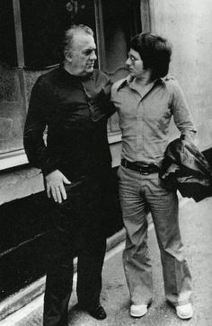 Federico Fellini and Steven Spielberg