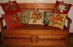 gorgeous fruit pillows