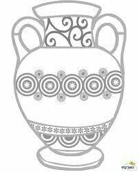 Hanukkah Crafts, Holiday Crafts, Creative Crafts, Creative Art, Simple Car Drawing, Greek History, Greek Art, Window Art, Sgraffito