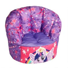 My Little Pony® Bean Bag Chair - Christmas Tree Shops and That! - Home Decor, Furniture & Gifts Store Baby Dolls For Kids, Little Girl Toys, Cool Toys For Girls, Baby Girl Toys, Little Girls, My Little Pony Bedroom, Mlp My Little Pony, My Little Pony Decorations, Barbie Doll Set