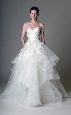 Marchesa - New York Bridal Week primavera-verano 2016 - www.so-sophisticated.com