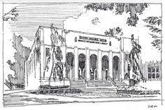 Architectural Rendering Technique: The Art Of The Pen and Ink Sketch — Akers Architectural Rendering