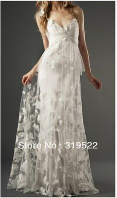 2013 spring forest style lace backless sheath butterfly wedding dresses wedding gown on AliExpress.com. 5% off $140.60
