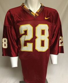6c3cd0274 Vintage Florida State Seminoles Warrick Dunn  28 Nike XXL Jersey 2XL  Nike   FloridaStateSeminoles