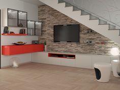 Progettazione 3D Soggiorno/Salotto -  render