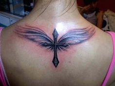 memorial angel tattoos designs for women | Tattoo design for women