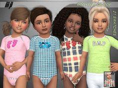 The Sims 4 Mody: Body dla maluchów od Marty P