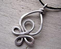 Celtic Loops Big Pendant  Light Weight by nicholasandfelice, $14.00