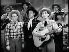 "Sons of the Pioneers ""Tumbling Tumble Weeds"" - Another childhood memory.  Yes, I remember the 40s. I was born in 1941"