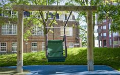 We offer a wide range of playground swings made from naturally durable hardwood. Our swings are suitable for all ages and abilities. Playground Swings, Outdoor Playground, Children Playground, Swing Seat, Technical Drawing, Hanging Chair, Most Beautiful Pictures, Modern, Nature