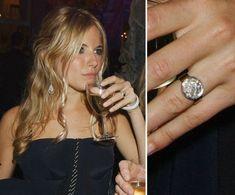 Celebrity Engagement Ring Pictures   POPSUGAR Celebrity