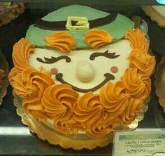 *St. Patrick's Day Leprechaun Cake Art at Whole Foods in Richmond, Va. 3-10-15 *CJW*