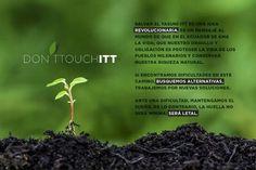 Firma nuestra peticion en change.org as Dont Touch ITT  #Yasuní #YasuniITT #Ecuador #DonttouchITT